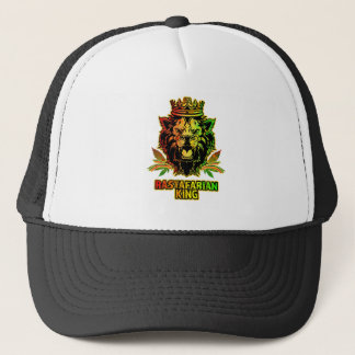 Rastafarian King Lion Trucker Hat