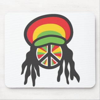 Rastafarian Mouse Pad