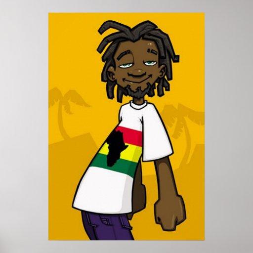 Rastafarian Poster
