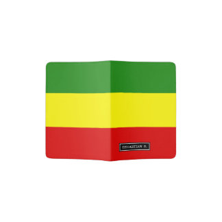 Rastafarian Pride Flag Passport Holder