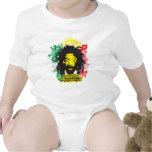 Rastafarian Revolution Baby Bodysuit