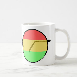 Rastaman Glasses Coffee Mug