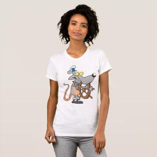 Rat Captain Womens T-Shirt