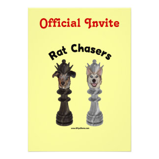 Rat Chasers Chess Dogs Announcements