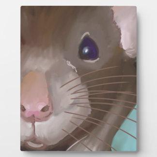 Rat face plaque