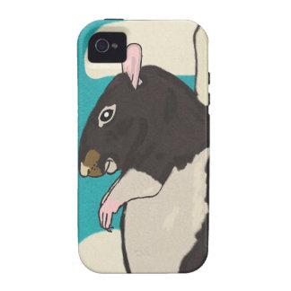 Rat heaven vibe iPhone 4 case