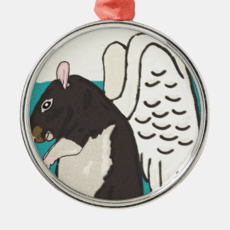 Rat heaven christmas ornament