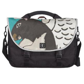 Rat heaven laptop bag