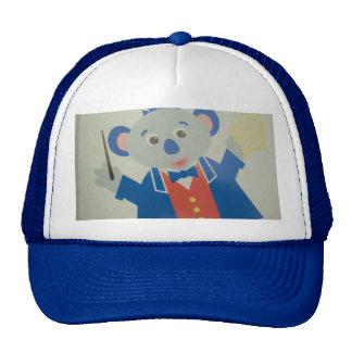 rat image musician trucker hat