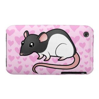 Rat Love iPhone 3 Case