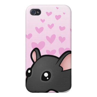 Rat Love iPhone 4/4S Covers