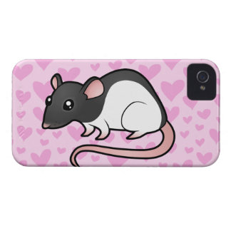 Rat Love iPhone 4 Case-Mate Case