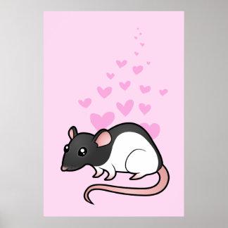 Rat Love Poster