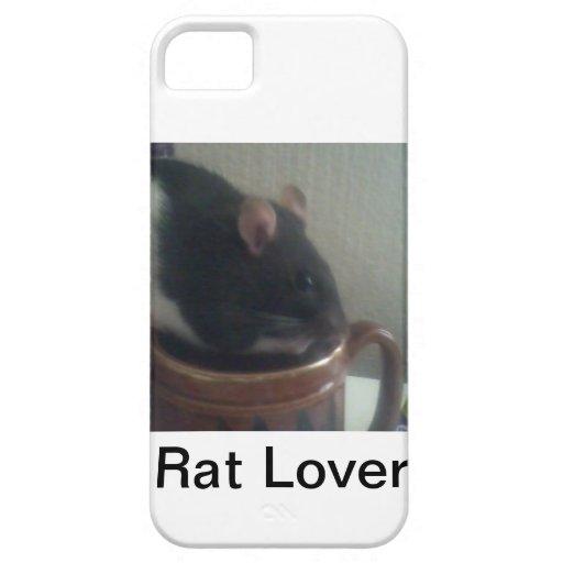 Rat Lover I Phone Case iPhone 5/5S Cases