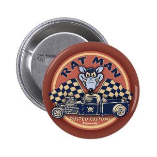 Rat Man II 6 Cm Round Badge
