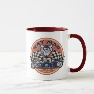 Rat Man Rusted Customs Mug