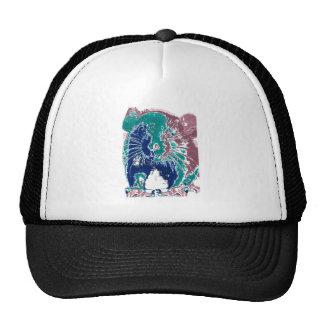 Rat/Mouse Soft Colors Altered Photograph Mesh Hat