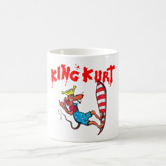 Rat on a Surfboard Coffee Mug