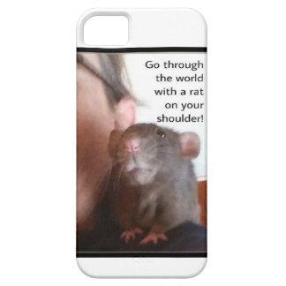 Rat On Shoulder Phone Case iPhone 5 Case