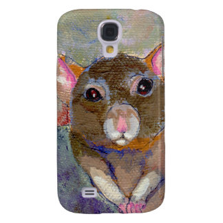 Rat painting I Have Issues fun sensitive pet art Galaxy S4 Case