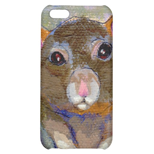 Rat painting I Have Issues fun sensitive pet art Cover For iPhone 5C