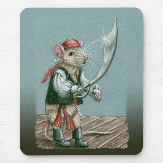 Rat Pirate mousepad