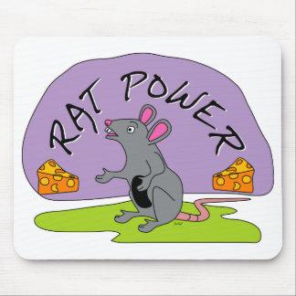 Rat Power Mouse Pad