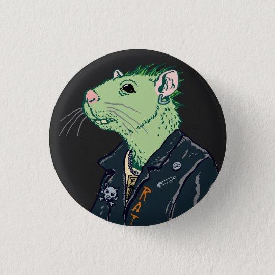 Rat Punk™ 3 Cm Round Badge