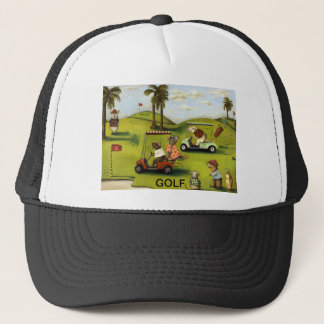 Rat Race 2 At The Golf Course Trucker Hat