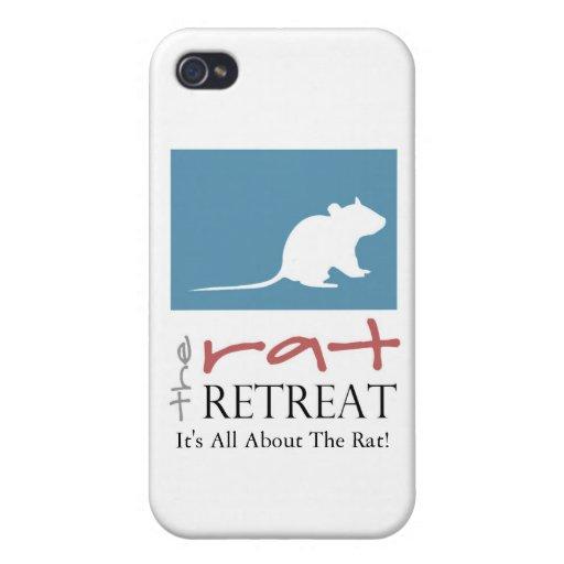 Rat Retreat iPhone Case iPhone 4 Cases