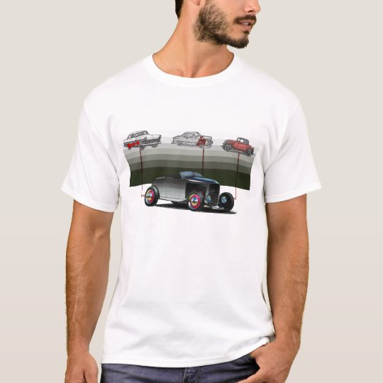 rat rod illustration T-Shirt