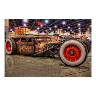Rat Rod in HDR Poster