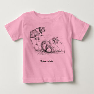 rat scary melon story baby T-Shirt