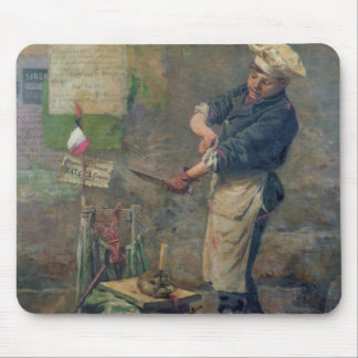 Rat Seller during the Siege of Paris, 1870 Mouse Mat