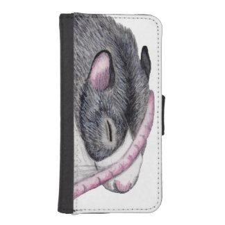 rat sleeping phone wallet case