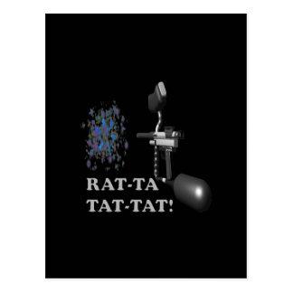Rat Ta Tat Tat 2 Postcard