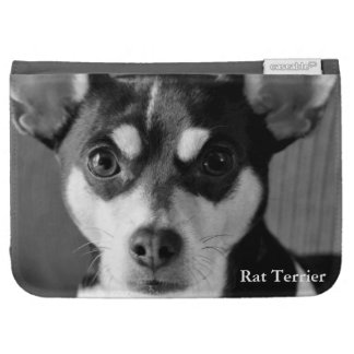 Rat Terrier, Black & White, Kindle 3 Covers