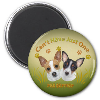 Rat Terrier Can t Have Just One Fridge Magnet