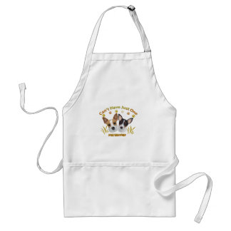 Rat Terrier Can't Have Just One Standard Apron