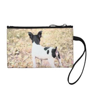 Rat Terrier coin purse
