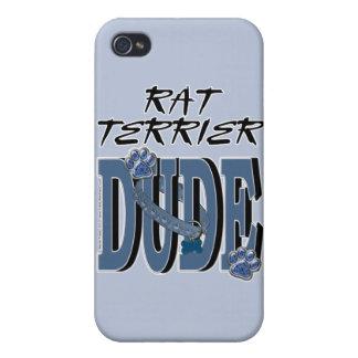 Rat Terrier DUDE iPhone 4 Covers