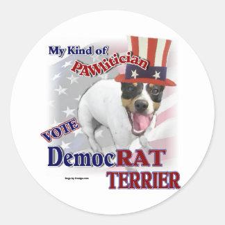 RAT TERRIER Gifts Round Sticker