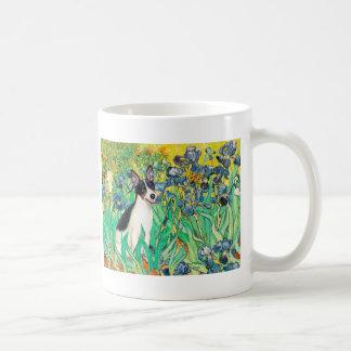Rat Terrier - Irises Basic White Mug
