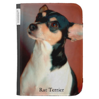 Rat Terrier Kindle Folio Case
