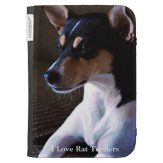 Rat Terrier Kindle Folio Case