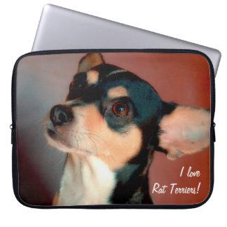 Rat Terrier Laptop Computer Sleeve
