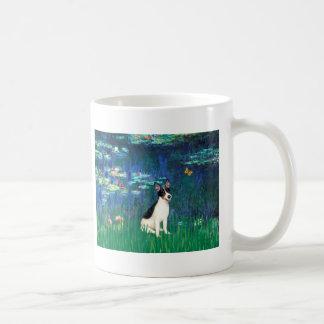 Rat Terrier - Lilies 5 Basic White Mug