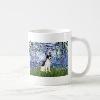 Rat Terrier - Lilies 6 Basic White Mug