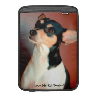 Rat Terrier MacBook Air Sleeve