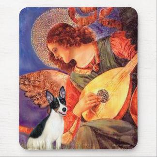 Rat Terrier - Mandolin Angel Mouse Pad